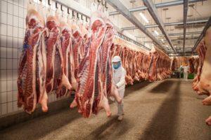 Viele Schlachthofmitarbeiter infizieren sich mit dem Corona-Virus