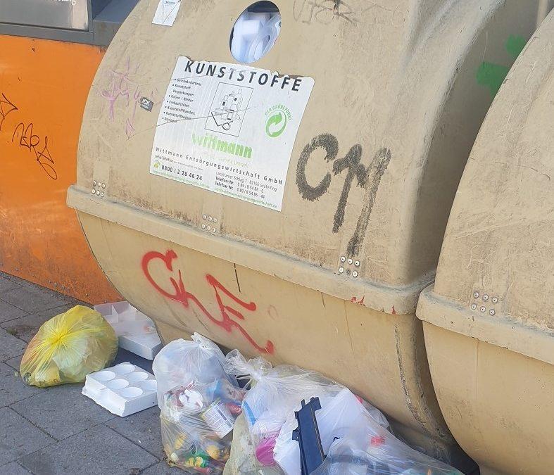Kampf der Plastikflut!