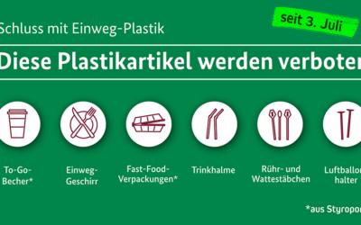 Achtung Mogelpackung – das neue Einwegplastikverbot